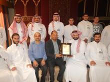 زار طلبة جامعة الفيصل شركة العبد اللطيف للاستثمار الصناعي