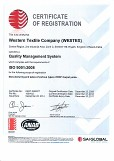 WESTEX ISO 9001:2008